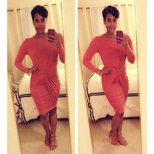 Tart Ruched Bodycon Dress